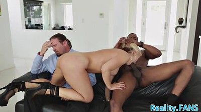 Interracial cuckold, Milf black
