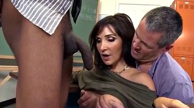 Classroom, Husband watch, Fuck son, Son anal, Watching husband, Husband son