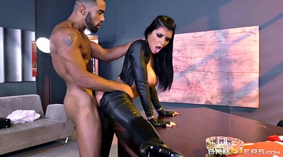 Boots, Romi rain, Leather, Glove, Gloves, Big tits doggy