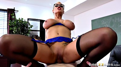 Bridgette b, Busty teacher, Teacher handjob