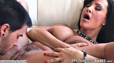 Lisa ann, Mature teacher, Ann, Cum on tits