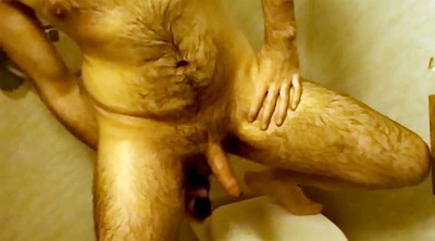 Anal dildo, Belly, Toying