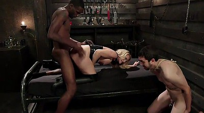 Cuckold, Leather, Bisexual interracial