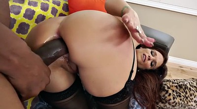 Anal gaping, Ebony mature, Giant cock, Ass mature
