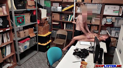 Office, Thief, Asian office, Asian pussy