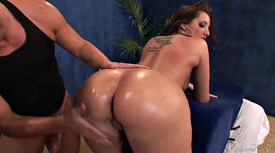 Massage, Oiled, Kelly divine