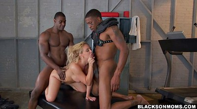 Ebony mom, Athletic, Two moms, Black mom