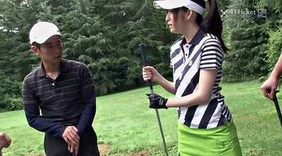 Japanese creampie, Uncensored, Japanese outdoor, Golf, Asian creampie