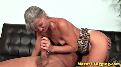 Grannies, Mature handjob