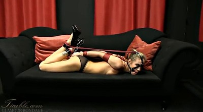 Hogtied, Couch, Coed, Hogtie