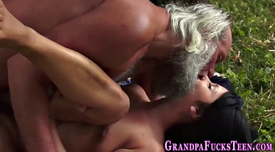 Teen old, Old latina, Latina granny
