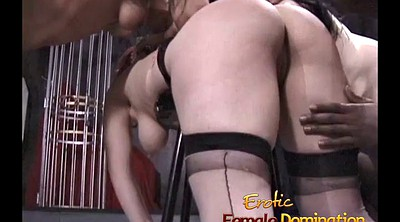 Mistress, Spanking girl, Three girl, Spank girl