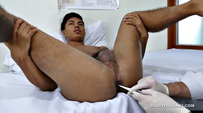Dad, Ass, Asian gay, Asian anal, Asian daddy, Doctor anal