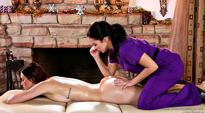 Oil, Lesbian hairy, Massage erotic