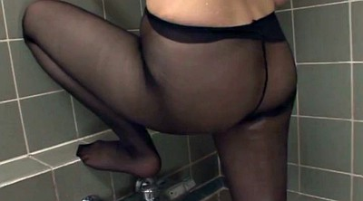 Asian pantyhose, Pantyhose sex, Hair play