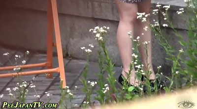 Japanese outdoor, High heels, Japanese pissing, Japanese piss, Japanese public, Heels asian