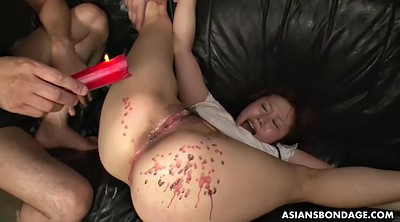 Bdsm, Japanese bdsm, Asian deep, Wax, Japanese throat, Gag