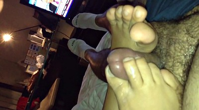 Footjob, Asian footjob, Asian feet