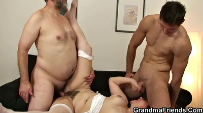 Mature gangbang, Mature swallow, Granny gangbang, Very old granny, Very old, Old pussy