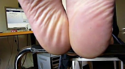 Mature feet, Mature foot, Feet in face
