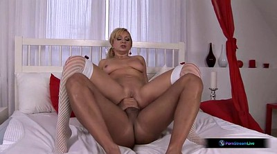 Creampies, Blonde blowjob