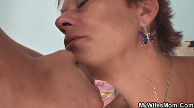 Mom old, Mature wife