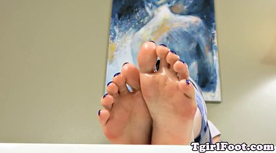 Tgirl, Shemale feet