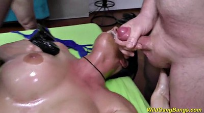 Oiled anal