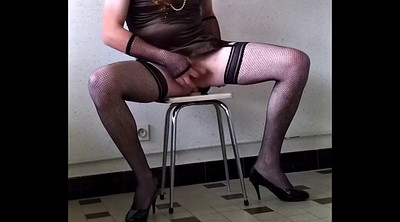 Train, Gay slave, Crossdressing