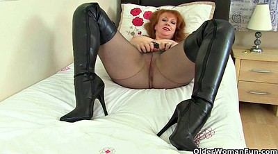 Boots, Red milf