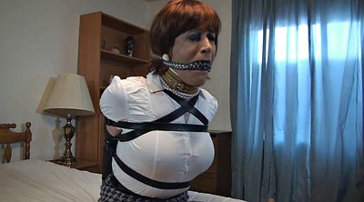 Crossdressers, Mask, Intruder, Bound and gagged