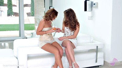 Lesbian party, Sensual, Erotica, Bunny, Sylvia, Surprised