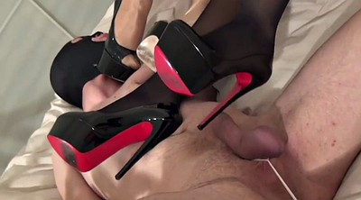 Femdom, Mistress, Beautiful feet, Ruined, High