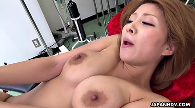 Japanese doctor, Fuck tits, Fuck face, Cum on tits