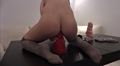 Anal fisting, Veneisse, Fisting dildo, Solo anal