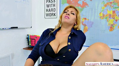 Students, Busty teacher