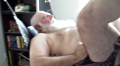 Daddy gay, Hairy ass