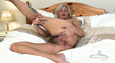 Hairy solo, Granny solo, Hairy mature