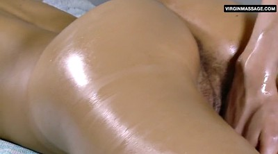Hairy massage, Russian amateur
