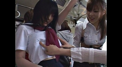 Japanese lesbian, Bus, Japanese bus, Strapon, Japanese gay, Japanese strapon