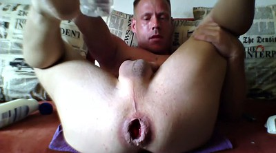 Cumshot, Solo anal, Anal solo, Male