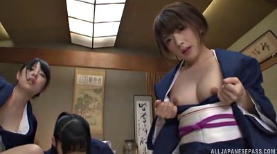 Asian, Japanese group, Japanese fuck, Japanese woman, Japanese sex, In front of