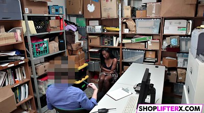 Blacked, Shoplifter, Teen ebony, Fail