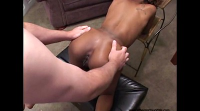 Interracial, Ebony anal