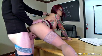 Classroom, Student and teacher, Monique alexander, Monique, Desk, Bend over