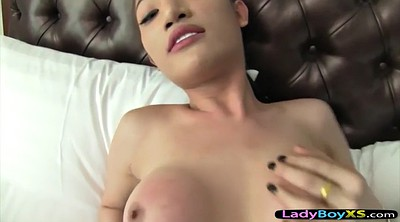 Pantyhose, Asian shemale, Pantyhose fuck, Asian ladyboy