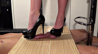 Trample, Trampling, Ejaculation, Mature feet, Pin, Pins