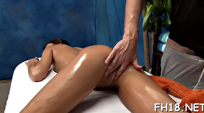 Old, Granny massage, Oiled, Years