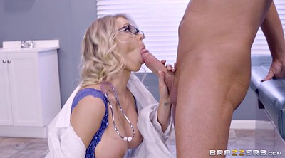 Katy, On her knees blowjob