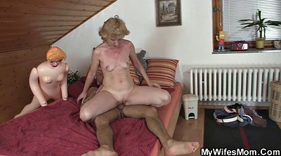 My mom, Mom horny, Horny milf, Happy